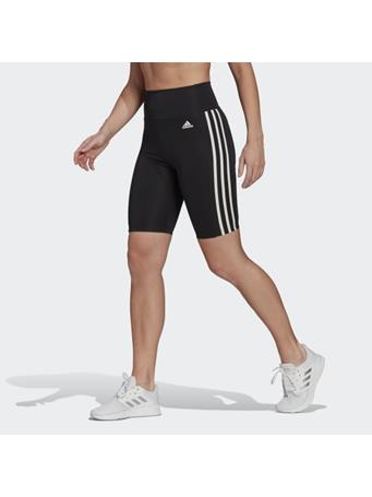 ADIDAS - Designed 2 Move High-Rise Short Sport Tights BLK/WHT