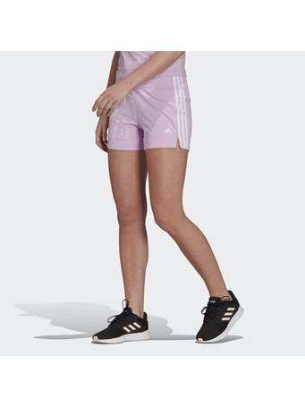 ADIDAS - Essentials Slim 3-Stripes Shorts LILAC/WHT