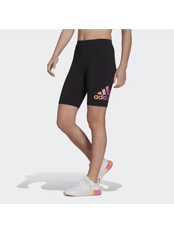 ADIDAS - adidas Essentials Gradient Logo Bike Shorts BLACK