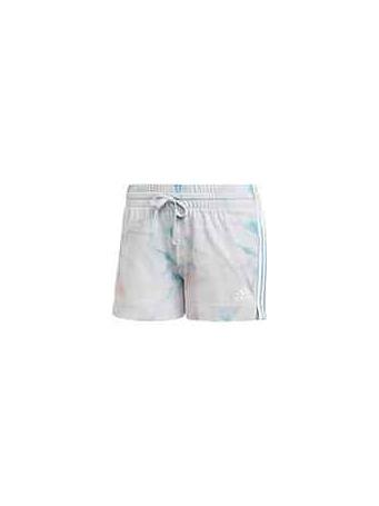 ADIDAS - Women's Tie-Dye Effect Shorts PINK/BLUE