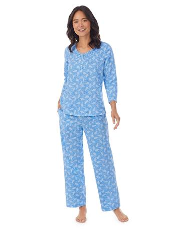 CAROLE HOCHMAN - Peri Paisley Pajama Set 418 PAISLEY