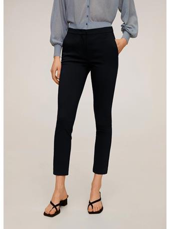 MANGO - Crop Skinny Pants 56NAVY