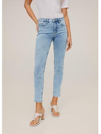 MANGO - Jeans Skinny Sculpt 51LIGHT BLUE