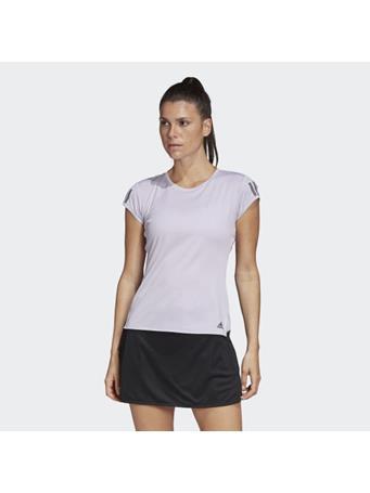 ADIDAS - 3-Stripes Club T-Shirt PURPLE TINT