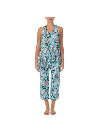 ELLEN TRACY - 3 Piece Pajama Gift Set 156 FLORAL ANIMAL