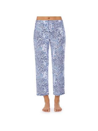 ELLEN TRACY - Pajama Crop Pants 451 BLU ANIMAL