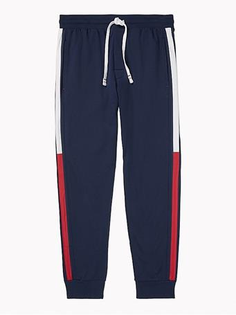 TOMMY HILFIGER - Stripe Jogger DARK NAVY