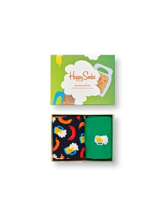HAPPY SOCKS - Beer Socks Gift Box 2-Pack MULTI
