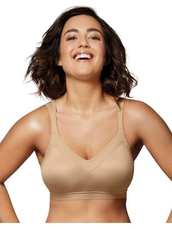 PLAYTEX - 18 Hour Active Breathable Comfort Wirefree Bra E8V NUDE
