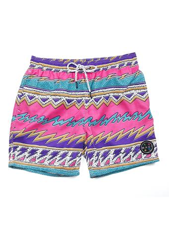 MAUI AND SONS - Pool Short Psychedelic PINK
