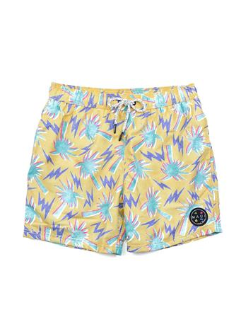 MAUI AND SONS - Pool Short Palm YELLOW