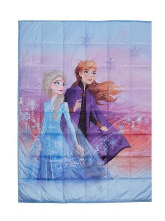 DISNEY - Frozen 2 Seeking our Destiny 4.5LBS Weighted Blanket PURPLE