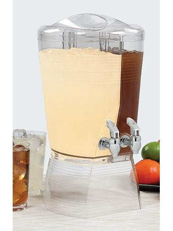 CREATIVE BATH - Double Beverage Dispenser Clear No Color