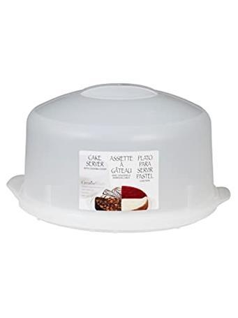 CREATIVE BATH - Cake Carrier- Tote - White No Color