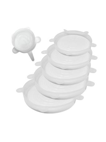 NORPRO - Reusable Silicone Lids CLEAR