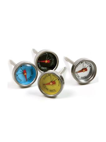 NORPRO - Mini Steak Thermometers-Set Of 4 STAINLESS STEEL
