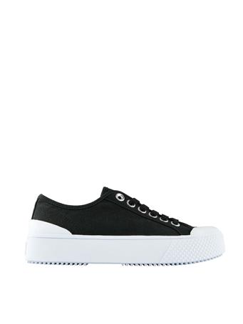 MARC FISHER - Rammy Lace Up Sneaker BLACK