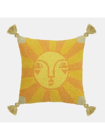 JUSTINA BLAKENNEY - Decorative Emuna Pillow With Tassels YELLOW