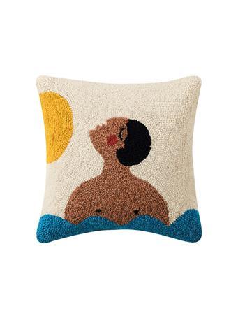 JUSTINA BLAKENEY - Decorative Pillow Time Throw Pillow WHITE