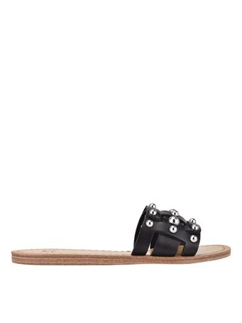 MARC FISHER - Pacca Studded Flat Sandal BLKLE