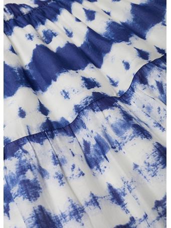 MANGO - Tie-dye Cotton Skirt NATURAL WHITE