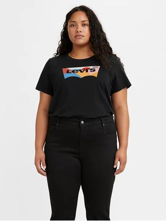 LEVI'S - Logo Perfect T-shirt CAVIAR