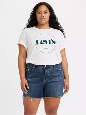 LEVI'S - Graphic Varsity T-shirt WHITE
