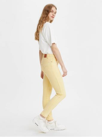 LEVI'S - 721 High Rise Skinny Women's Jeans YARROW HAZY