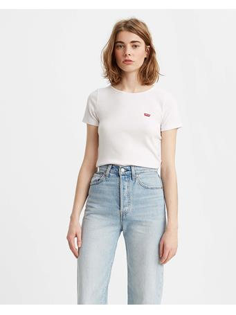 LEVI'S - Women's Honey Short Sleeve T-shirt WHITE