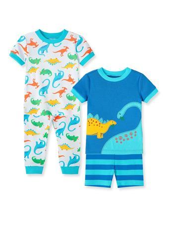 LITTLE ME- Dinosaur Pajama Set MULTI