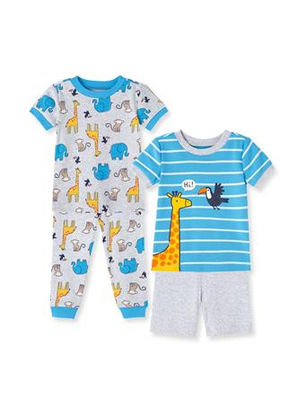 LITTLE ME- Safari Pajama Set HEATHER GREY