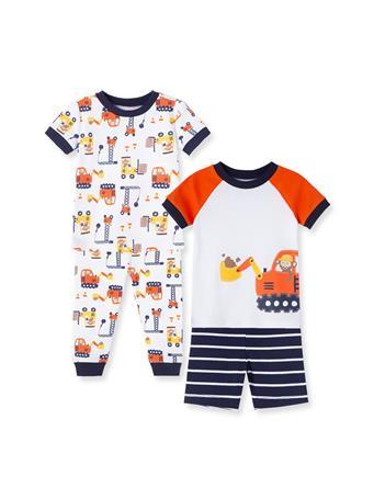 LITTLE ME- Construction Toddler Pajama Set BLUE