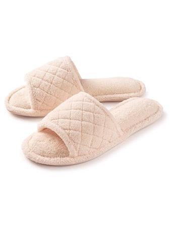 ROXONI - Open Quilted Slipper IVORY