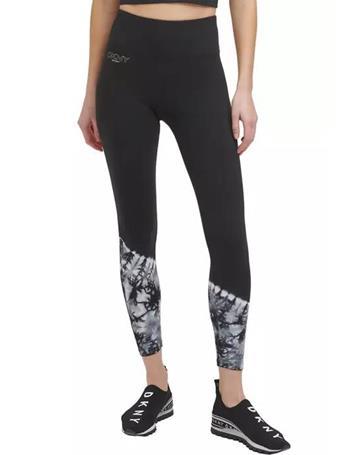 DKNY - Tie Dye High Waist 7/8 Legging BLACK