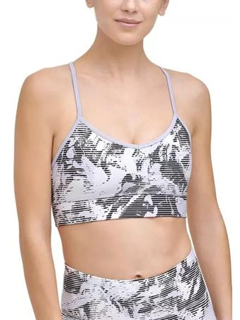 DKNY - Shades Print Strappy Back Bra with Removable Cups BLUE