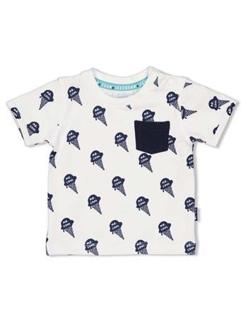 FEETJE - Team Ice Cream Boys T-shirt WHITE
