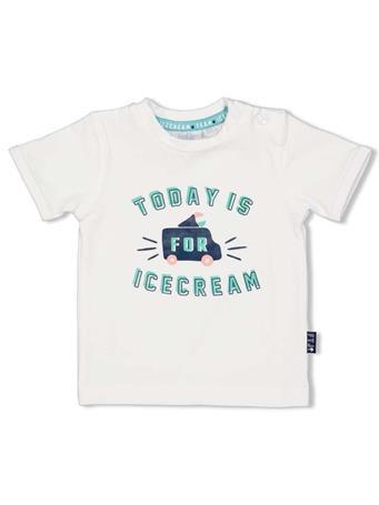 FEETJE - TEAM ICE CREAM Print Short Sleeve Top WHITE