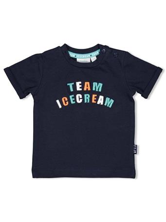 FEETJE - TEAM ICE CREAM Short Sleeve Top MARINE BLUE
