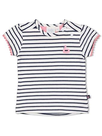 FEETJE - T-Shirt Stripe WHITE