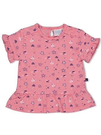FEETJE - T-shirt Print Girl ROSE