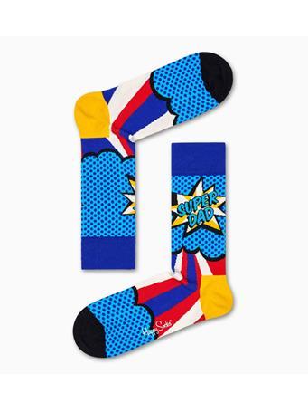HAPPY SOCKS - Super Dad Socks MULTI