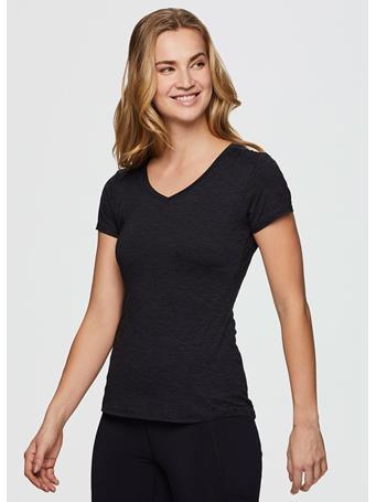 RBX - Stratus On The Run Stretch Tee Shirt BLACK
