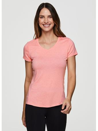 RBX - Stratus On The Run Stretch Tee Shirt CORAL