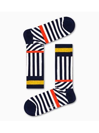 HAPPY SOCKS - Stripes And Stripes Sock MULTI