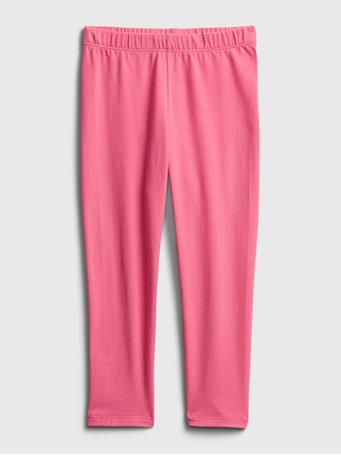 GAP - Toddler Organic Cotton Mix and Match Pull-On Leggings NEON PINK ROSE
