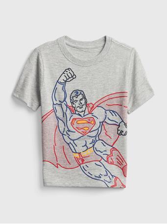 GAP - Baby Graphic T-Shirt LIGHT HEATHER GREY V6