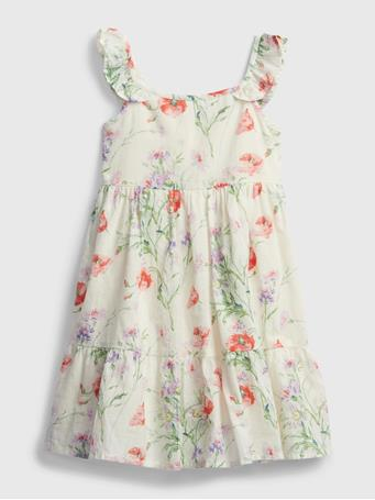 GAP - Toddler Floral Dress FLORAL PRINT