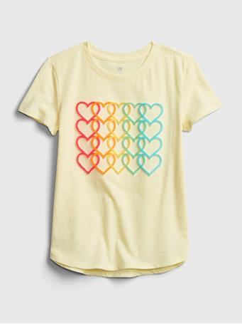 GAP - Kids Interactive Graphic T-Shirt NEW HONEYSUCKLE