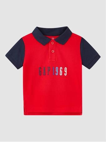 GAP - Toddler Logo Polo Shirt PURE RED V2