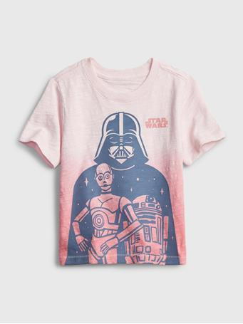 GAP - Baby Star Wars Graphic T-Shirt CHERRY BLOSSOM